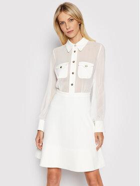 Marciano Guess Marciano Guess Sukienka koszulowa 1GG748 9553Z Biały Regular Fit