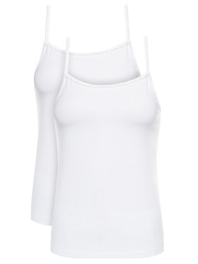 Calvin Klein Underwear Calvin Klein Underwear Set di 2 top Cami 000QS6440E Bianco Regular Fit