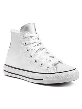 Converse Converse Sneakers aus Stoff Ctas Hi 570287C Weiß