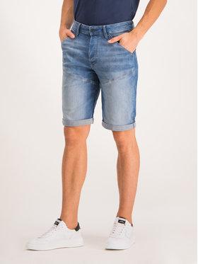 G-Star Raw G-Star Raw Džínové šortky D09154-9587-A587 Modrá Regular Fit