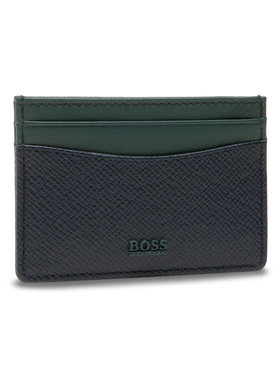 Boss Boss Etui na karty kredytowe SignPop214 50447004 10195513 01 Granatowy