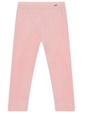 Mayoral Mayoral Spodnie dresowe 727 Różowy Slim Fit