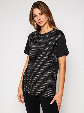 Guess Guess T-Shirt Brandie W0BI0L K7DN0 Schwarz Regular Fit