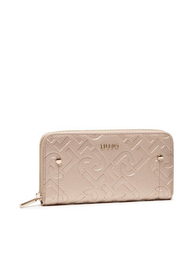 Liu Jo Liu Jo Velká dámská peněženka Ecs Xl Zip Around AF1051 E0538 Zlatá