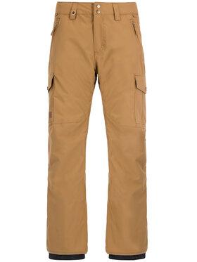 Quiksilver Quiksilver Spodnie snowboardowe Porter EQYTP03118 Brązowy Regular Fit