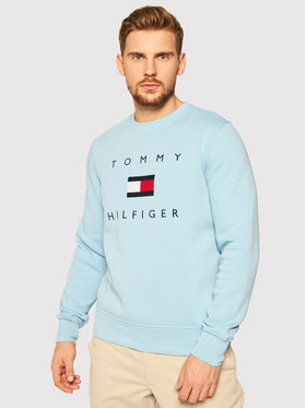 TOMMY HILFIGER TOMMY HILFIGER Felpa Flag MW0MW14204 Blu Regular Fit