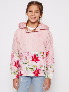 Guess Guess Bunda anorak J1RL02 WDM50 Ružová Regular Fit