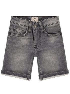 Timberland Timberland Pantaloni scurți de blugi T24A95 S Gri Regular Fit