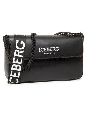 Iceberg Iceberg Дамска чанта 8X Borsa 20I P2P1 7204 6962 Черен