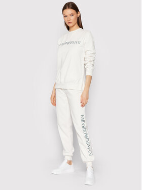 Emporio Armani Underwear Emporio Armani Underwear Анцуг 164417 1A250 06110 Бял Regular Fit