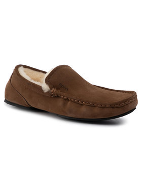 Boss Boss Pantofole Relax 50423231 10223624 01 Marrone