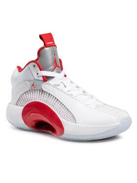 Nike Nike Boty Air Jordan XXXV (Gs) CQ9433 100 Bílá