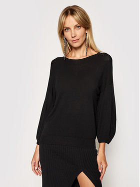 Kontatto Kontatto Sweater 3M7207 Fekete Regular Fit