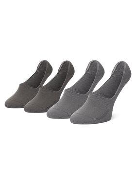 Levi's® Levi's® Zestaw 2 par stopek unisex 37157-0191 Szary