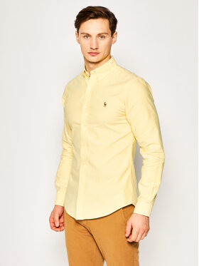 Polo Ralph Lauren Polo Ralph Lauren Košeľa Classics 710792161 Žltá Slim Fit