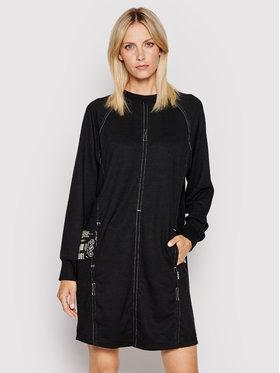 G-Star Raw G-Star Raw Džemper haljina Graphic Pocket Tweater D19936-C808-976 Crna Straight Fit