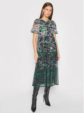 Desigual Desigual Sukienka letnia Perugia 21WWVK53 Kolorowy Regular Fit