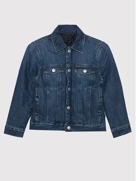 Calvin Klein Jeans Calvin Klein Jeans Μπουφάν μεταβατικό IB0IB00917 Σκούρο μπλε Regular Fit