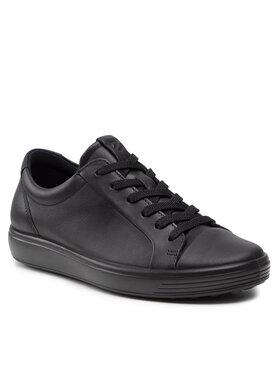 ECCO ECCO Sneakersy Soft 7 W 47030351052 Czarny