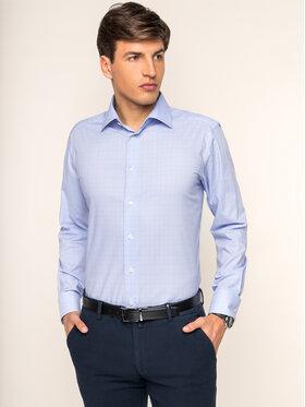 Eton Eton Košile 100000000 Modrá Slim Fit