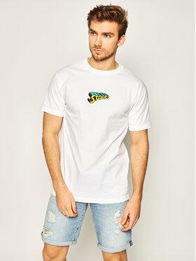 HUF HUF T-shirt Stoops Man TS01015 Blanc Regular Fit
