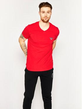 Emporio Armani Emporio Armani T-Shirt 111556 0P525 00074 Červená Slim Fit