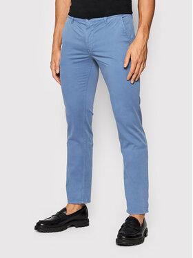 Boss Boss Chino kalhoty Schino 50379152 D Modrá Slim Fit
