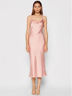 Guess Guess Sukienka wieczorowa New Akilina W1YK1C WD8G0 Różowy Slim Fit