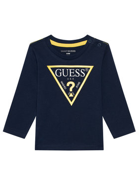 Guess Guess Блуза N84I24 K8HM0 Тъмносин Regular Fit