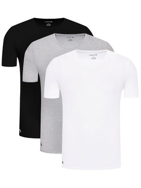 Lacoste Lacoste Komplet 3 t-shirtów TH3321 Kolorowy Slim Fit