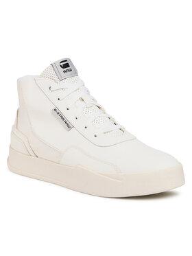 G-Star Raw Sneakersy Rackam Revend Mid D17995-8708-111 Biela