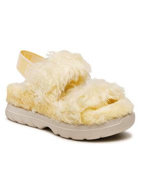 Ugg Ugg Szandál W Fluff Sugar Sandal 1119999 Sárga