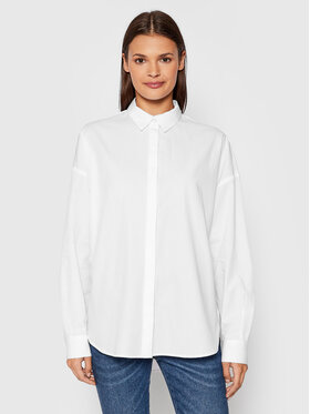 Selected Femme Selected Femme Chemise Hema 16079698 Blanc Regular Fit