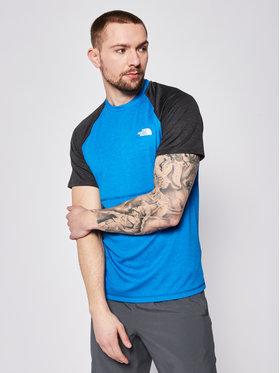 The North Face The North Face Тениска от техническо трико Stretch Tee NF0A494HQD31 Син Regular Fit