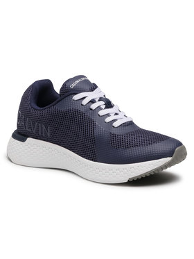 Calvin Klein Jeans Calvin Klein Jeans Sneakersy Amos S0584 Granatowy