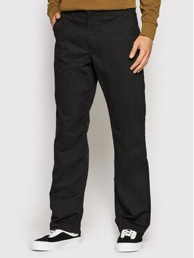 Vans Vans Чино панталони Authentic VN0A5FJB Черен Loose Fit