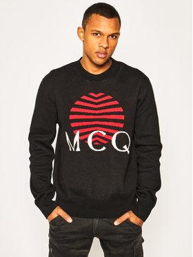 MCQ Alexander McQueen MCQ Alexander McQueen Пуловер 577570 RON01 1000 Черен Regular Fit
