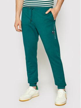 Tommy Hilfiger Tommy Hilfiger Sportinės kelnės Essential MW0MW17384 Žalia Regular Fit