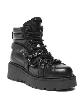 Carinii Carinii Členková obuv B7565 Čierna