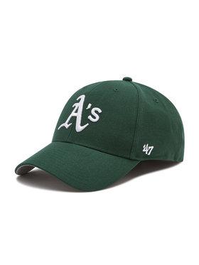 47 Brand 47 Brand da uomo Oakland Athletics B-MVP18WBV-DGC Verde