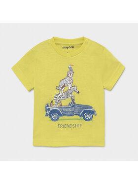 Mayoral Mayoral T-Shirt 1002 Zielony Regular Fir