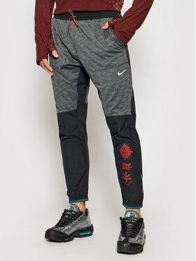 Nike Nike Sportinės kelnės Phenom Elite Wild Run Z9748 Pilka Standard Fit