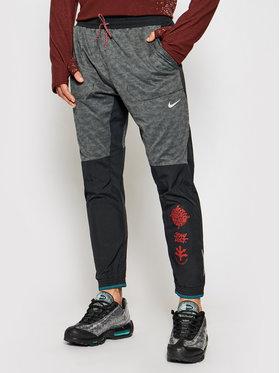 Nike Nike Teplákové nohavice Phenom Elite Wild Run Z9748 Sivá Standard Fit