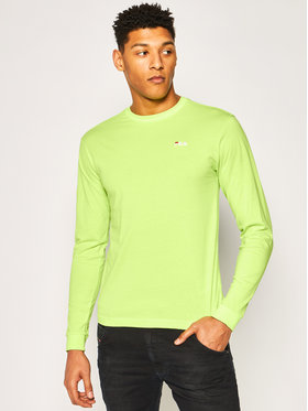 Fila Fila Тениска с дълъг ръкав Eitan 687606 Зелен Regular Fit