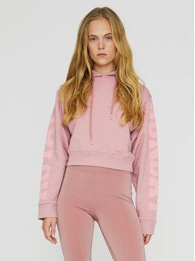 ROTATE ROTATE Sweatshirt Viola RT482 Rosa Loose Fit