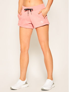 Calvin Klein Jeans Calvin Klein Jeans Športové kraťasy J20J213379 Ružová Regular Fit