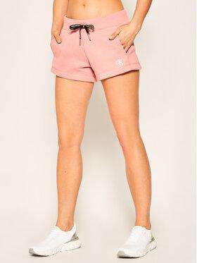 Calvin Klein Jeans Calvin Klein Jeans Szorty sportowe J20J213379 Różowy Regular Fit