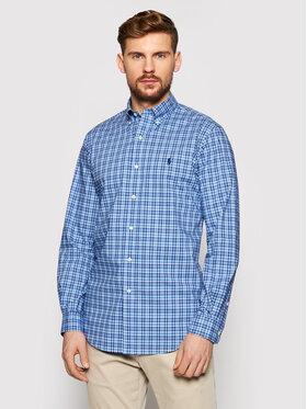 Polo Ralph Lauren Polo Ralph Lauren Košeľa Cubdppcs 710829472001 Modrá Custom Fit