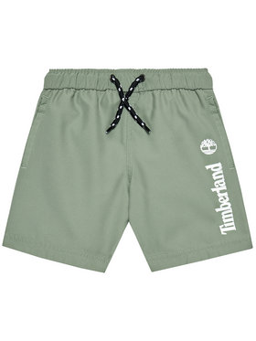 Timberland Timberland Pantaloncini da bagno T24B44 M Verde Regular Fit