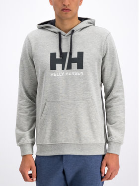 Helly Hansen Helly Hansen Majica dugih rukava Hh Logo 33977 Siva Regular Fit